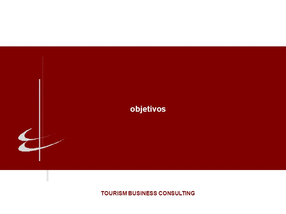 objetivos TOURISM BUSINESS CONSULTING