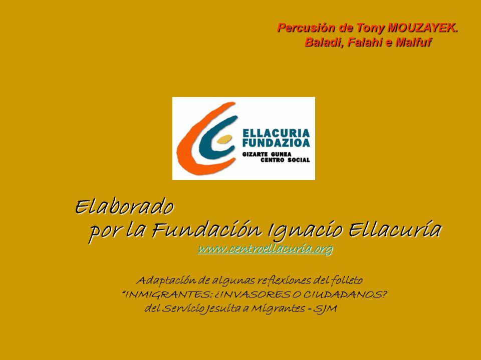 Elaborado por la Fundación Ignacio Ellacuría www.centroellacuria.org www.centroellacuria.org Adaptación de algunas reflexiones del folleto INMIGRANTES: ¿INVASORES O CIUDADANOS.