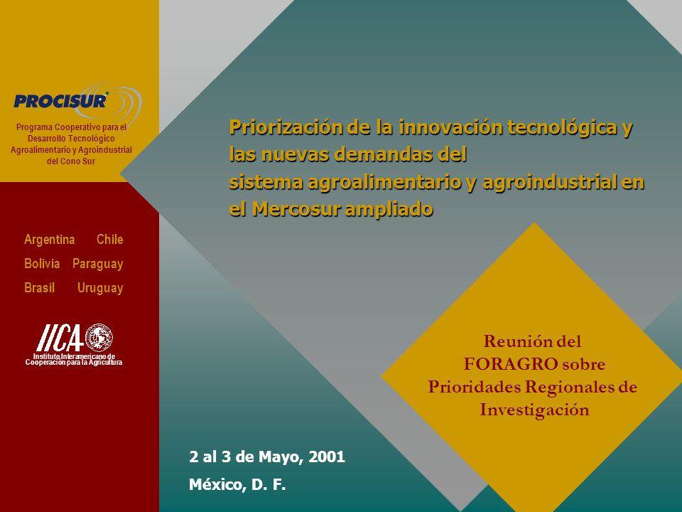 2 al 3 de Mayo, 2001 México, D. F.