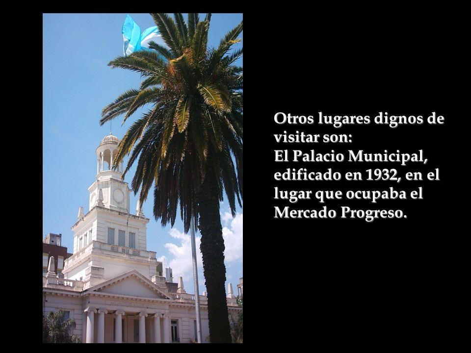 En la calle Colón, está el Centro Cultural Trapalanda donde funciona el Museo de Bellas Artes; a la vuelta de esa manzana por la calle Constitución se