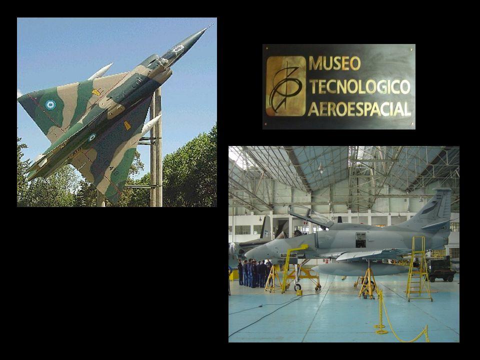 El Museo Tecnológico Aeroespacial, que se encuentra en el Aeródromo.