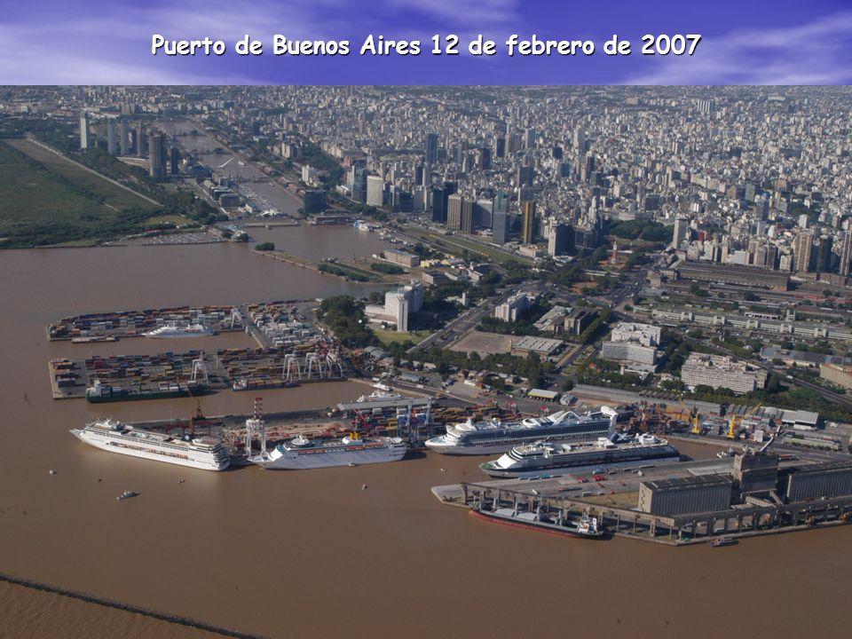 Puerto de Buenos Aires 12 de febrero de 2007