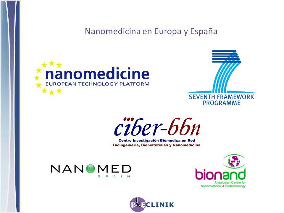 Nanomedicina en Europa y España