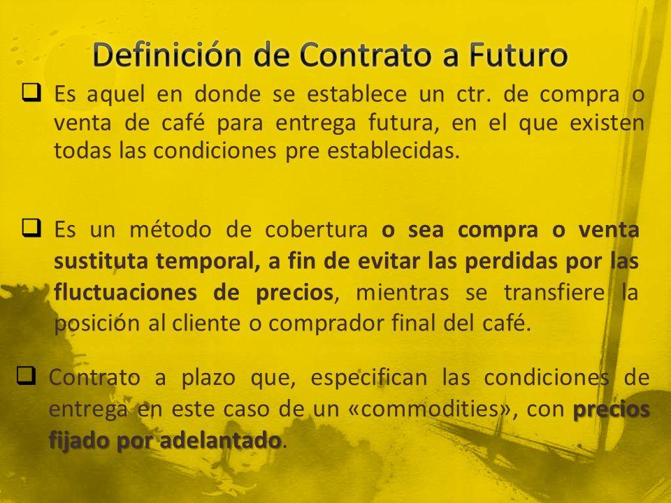 Importador/Tostador AFECTACION DE CTS.POR TRASLADO POSICION EN BOLSA (AA) Importador Cta.
