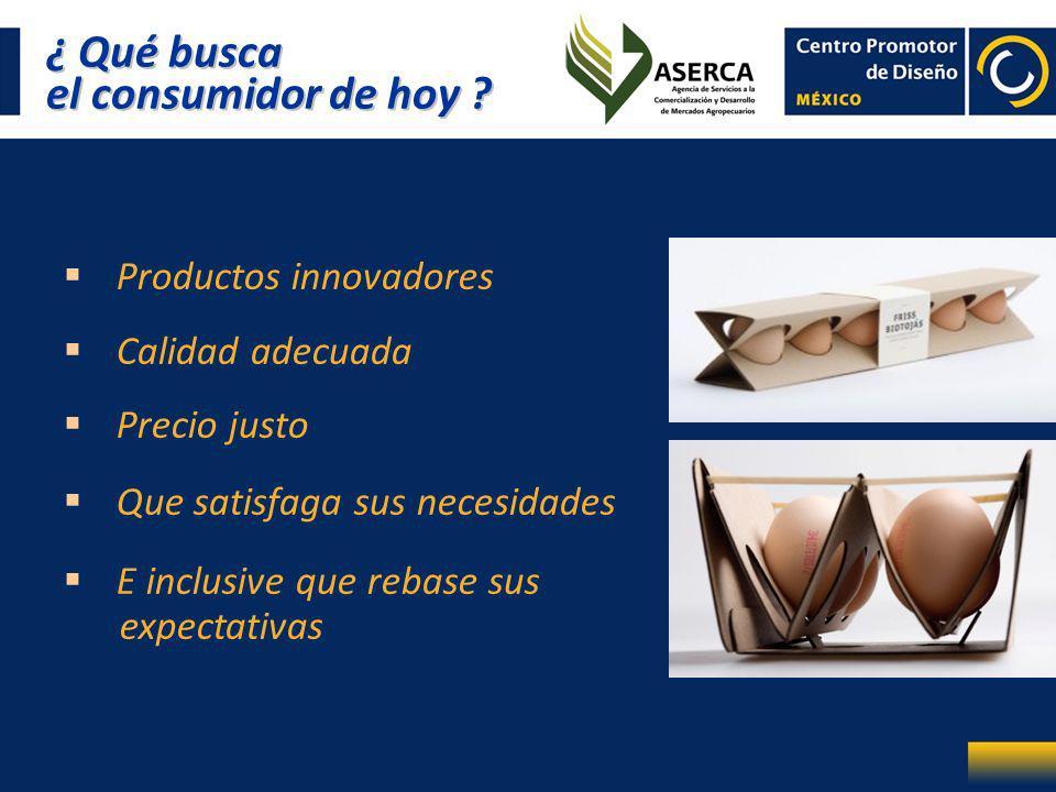 ¿ Qué busca el consumidor de hoy ? ¿ Qué busca el consumidor de hoy ? Productos innovadores Calidad adecuada Precio justo Que satisfaga sus necesidade