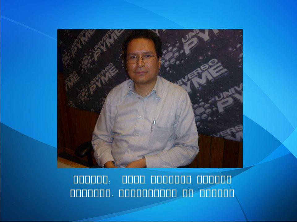 NOMBRE : JOEL RAMIREZ YESCAS EMPRESA : TELEMETRIA DE MEXICO