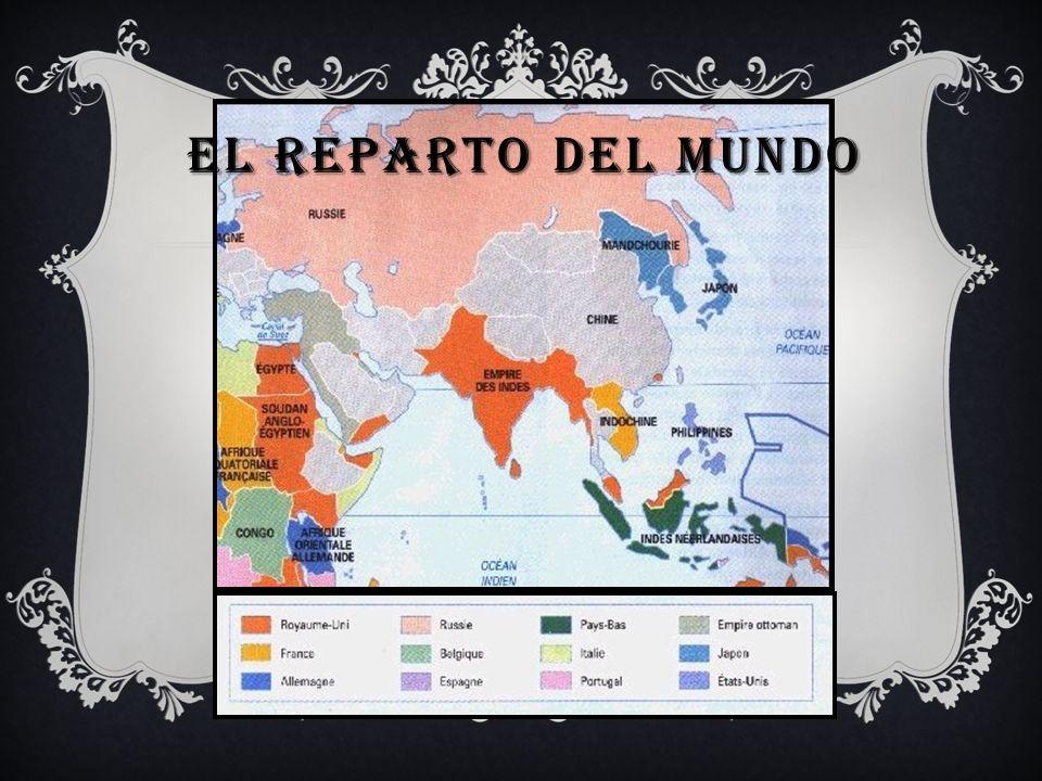 EL REPARTO DEL MUNDO