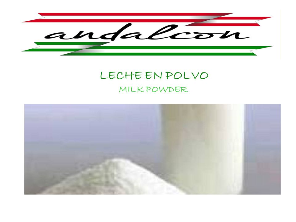 LECHE EN POLVO MILK POWDER