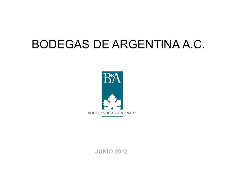 BODEGAS DE ARGENTINA A.C. JUNIO 2012