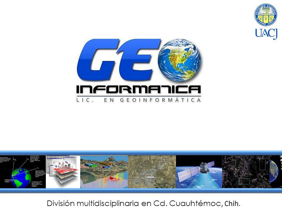 ¿Qué es la Geoinformática.Ciencias de la Tierra y la Informática.