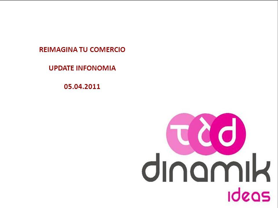 REIMAGINA TU COMERCIO UPDATE INFONOMIA 05.04.2011