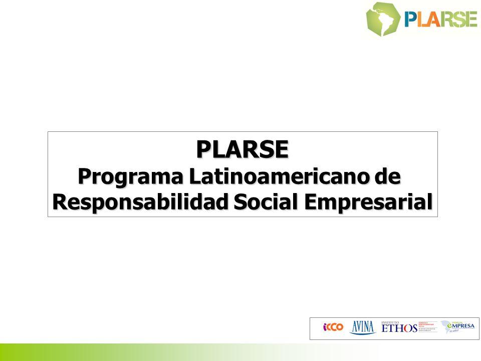 PLARSE Programa Latinoamericano de Responsabilidad Social Empresarial