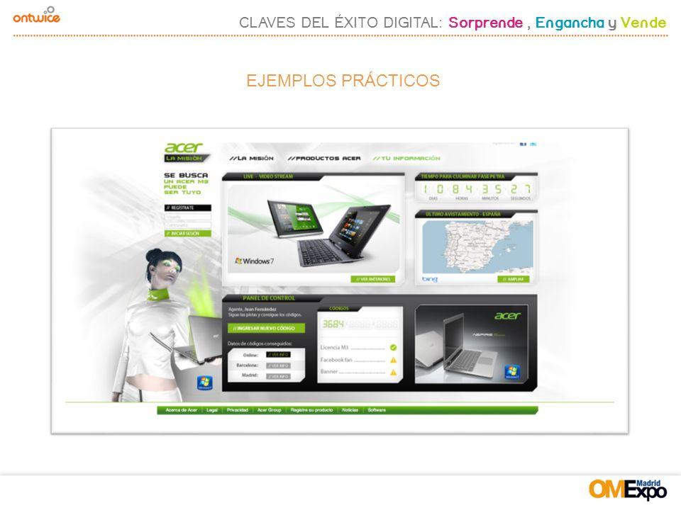 CLAVES DEL ÉXITO DIGITAL: Sorprende, Engancha y Vende EJEMPLOS PRÁCTICOS