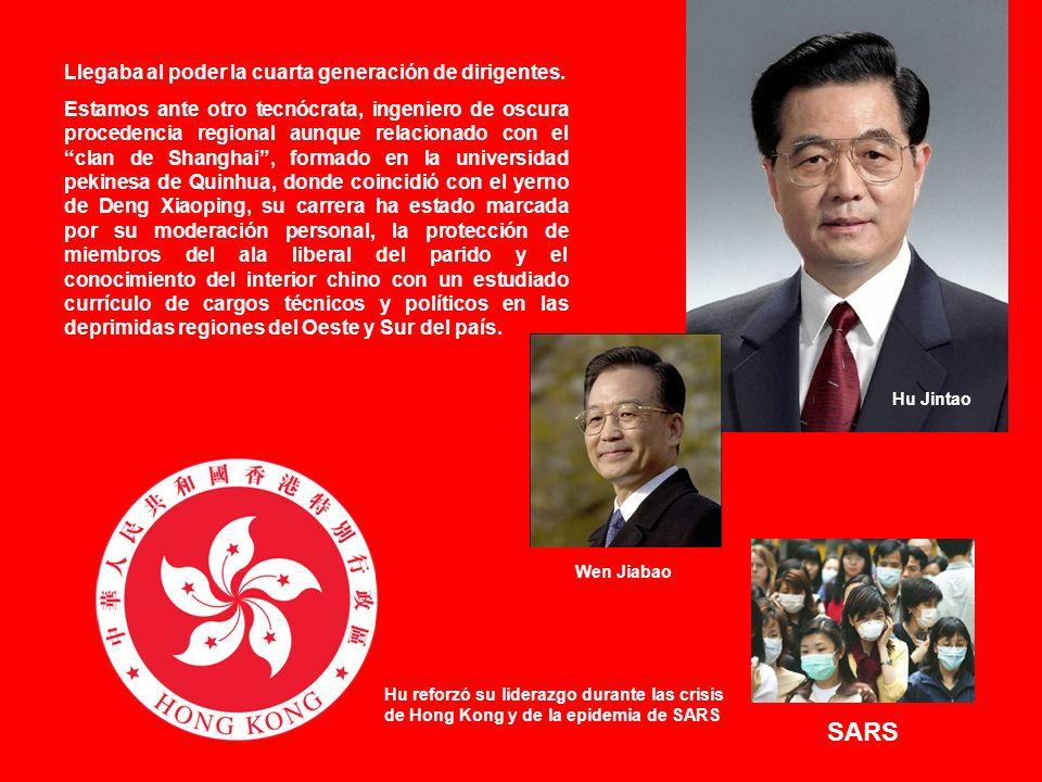 Una nueva política con tintes sociales Por ello, a principios de 2006, Hu puso en marcha la campaña Ocho honores y Ocho de deshonras en un intento de promover renovación moral entre la población.