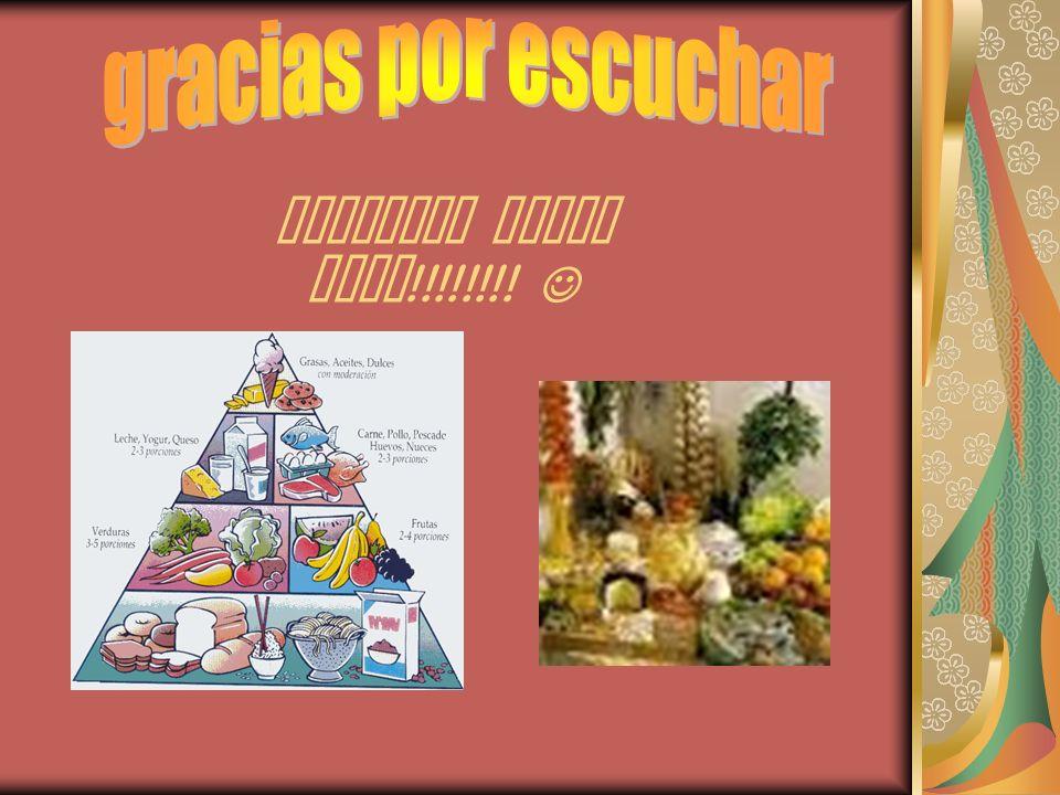 Recuerda comer sano !!!!!!!!