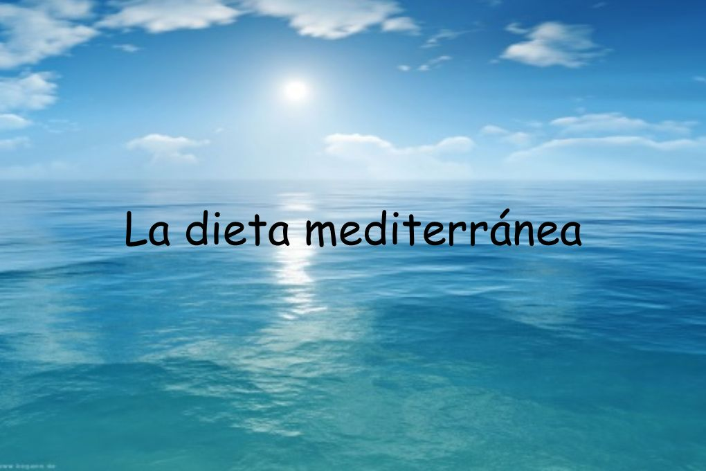 Dieta Diaita (Griego) estilo de vida equilibrada.
