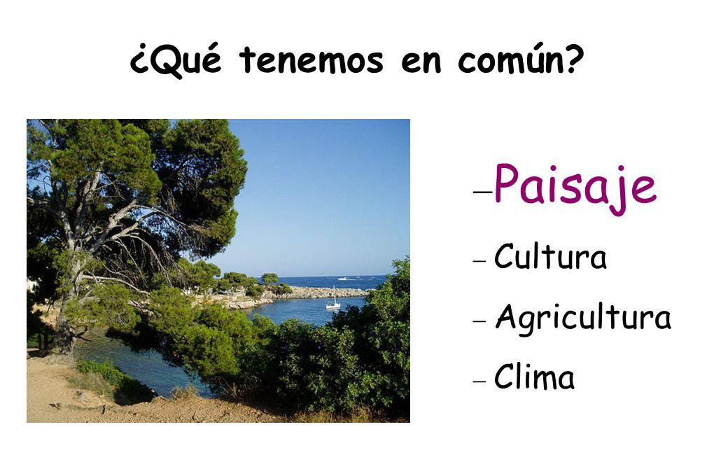 ¿ Se parecen ? Grecia, Patmos Italia, Isla de Capri España, Alicante Francia, Córcega