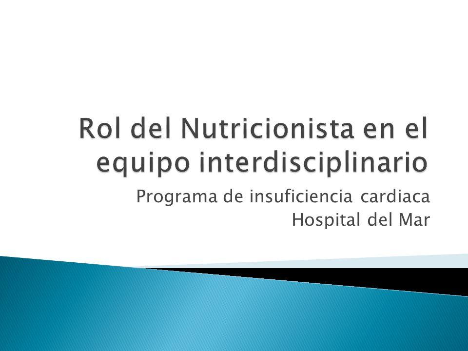 Programa de insuficiencia cardiaca Hospital del Mar