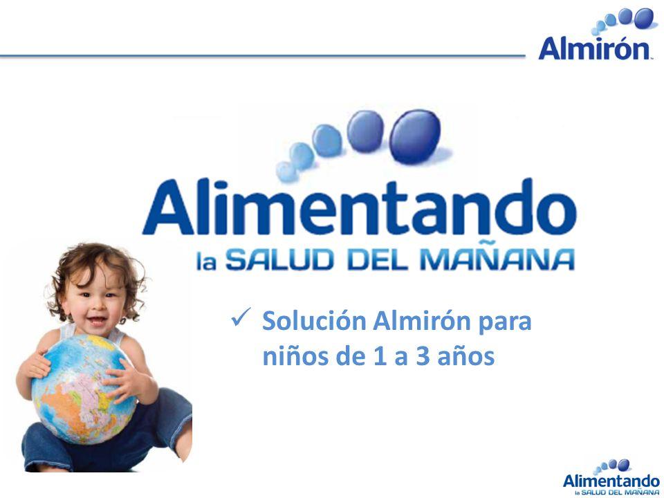 Solución Almirón para niños de 1 a 3 años