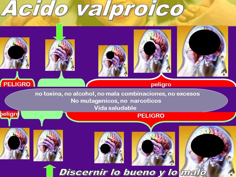 no toxina, no alcohol, no mala combinaciones, no excesos No mutagenicos, no narcoticos Vida saludable peligro PELIGRO peligro PELIGRO