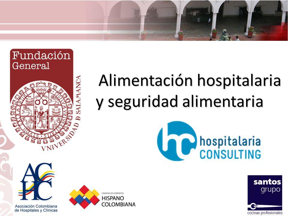 Alimentación hospitalaria y seguridad alimentaria Alimentación hospitalaria y seguridad alimentaria