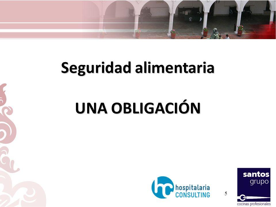 16 El mayor problema estadístico en la alimentación hospitalaria GARANTIZAR A LO LARGO DE TODO EL PROCESO DE PRODUCCIÓN Y DISTRIBUCIÓN LA TEMPERATURA LA TEMPERATURA