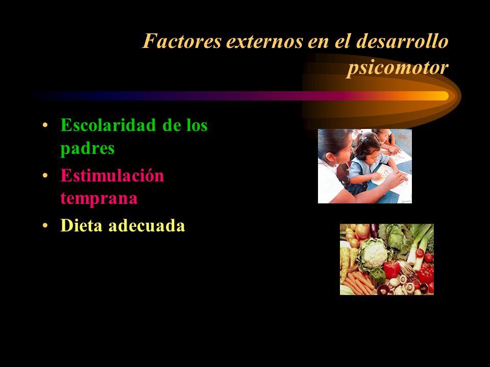 Areas del desarrollo psicomotor Cognitiva:Area de proceso del pensamiento, a través de las habilidades de percepción, atención, memoria y aprendizaje