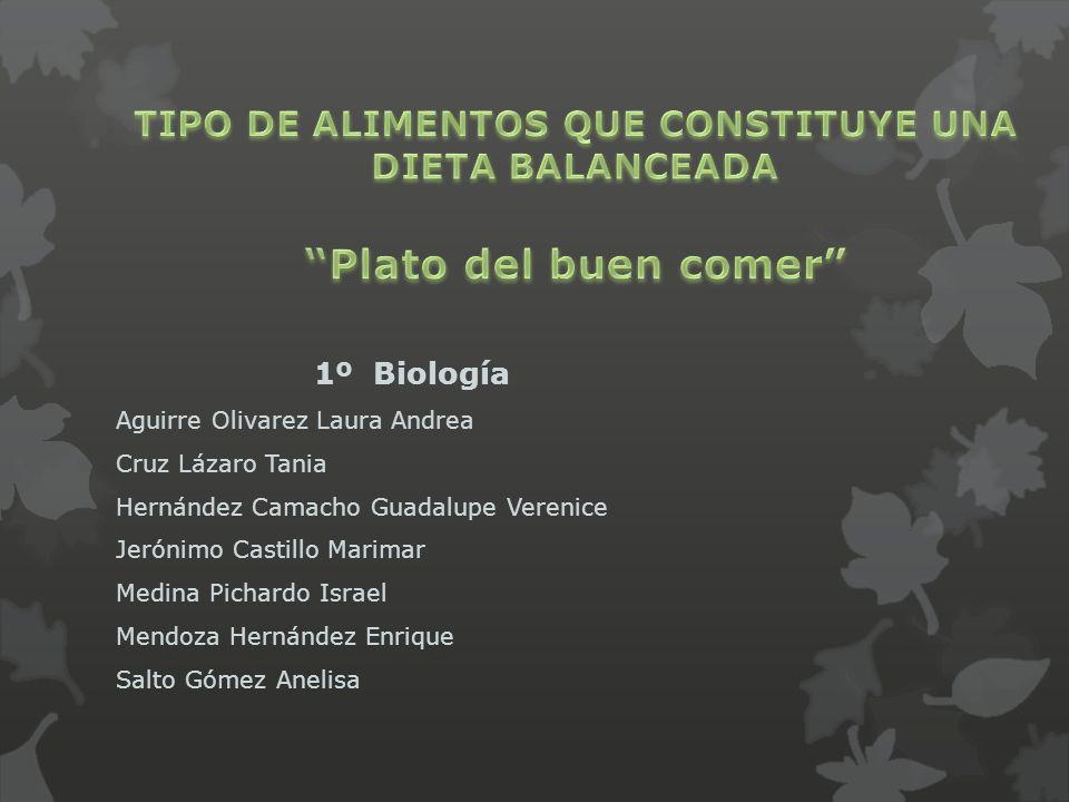 1º Biología Aguirre Olivarez Laura Andrea Cruz Lázaro Tania Hernández Camacho Guadalupe Verenice Jerónimo Castillo Marimar Medina Pichardo Israel Mend
