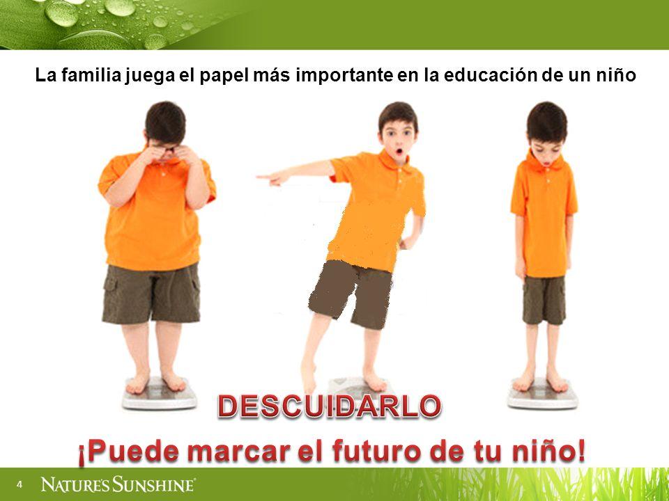 4 La familia juega el papel más importante en la educación de un niño