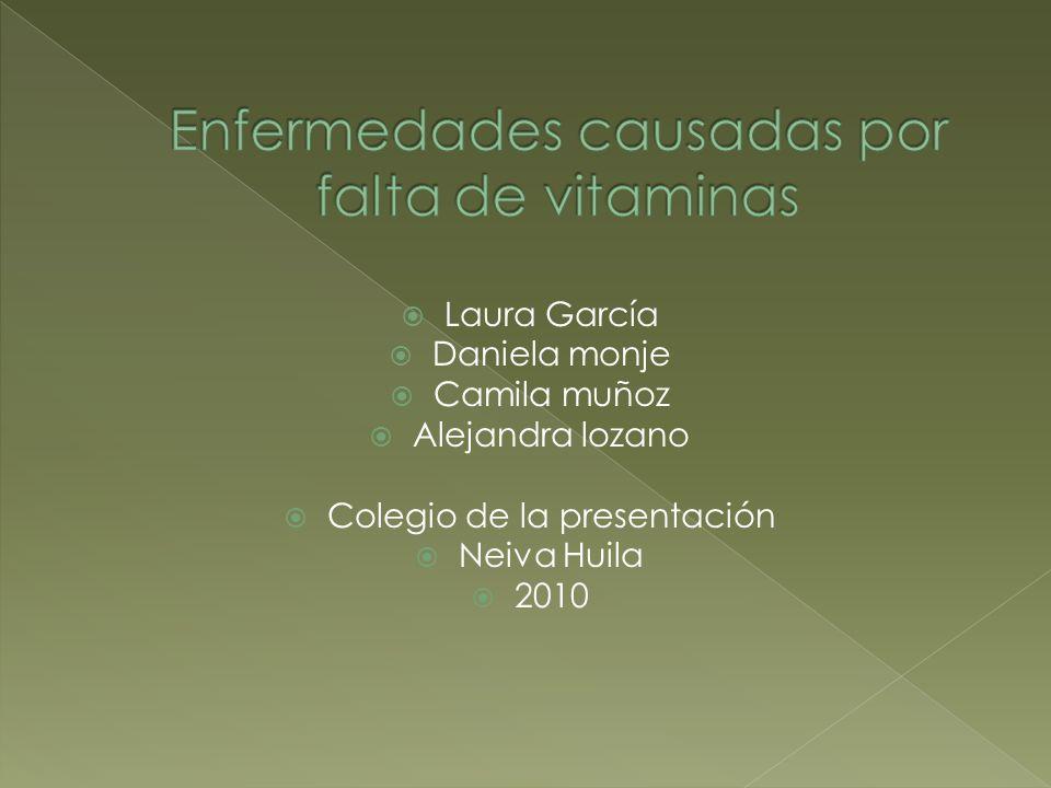 Laura García Daniela monje Camila muñoz Alejandra lozano Colegio de la presentación Neiva Huila 2010