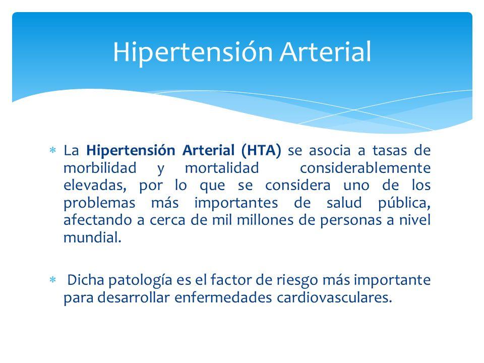Investigar la relación existente entre la hipertensión arterial y los hábitos alimentarios en pacientes hipertensos con sobrepeso u obesidad de 40 a 60 años de ambos sexos, que asistieron al Hospital Córdoba de la ciudad de Córdoba en el año 2011.