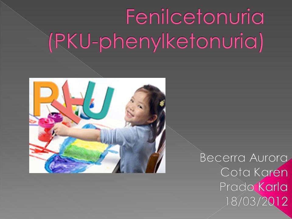 Análisis enzimático para detectar el estado de portador (en los padres) Pruebas de vellosidades coriónicas (corion: capa más externa del saco embrionario que posee el mismo material genetico que el feto) Tamizaje para PKU