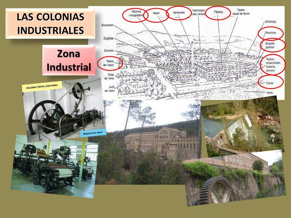 LAS COLONIAS INDUSTRIALES LAS COLONIAS INDUSTRIALES Zona Industrial Zona Industrial