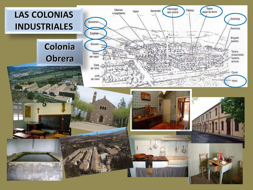 LAS COLONIAS INDUSTRIALES LAS COLONIAS INDUSTRIALES Colonia Obrera Colonia Obrera