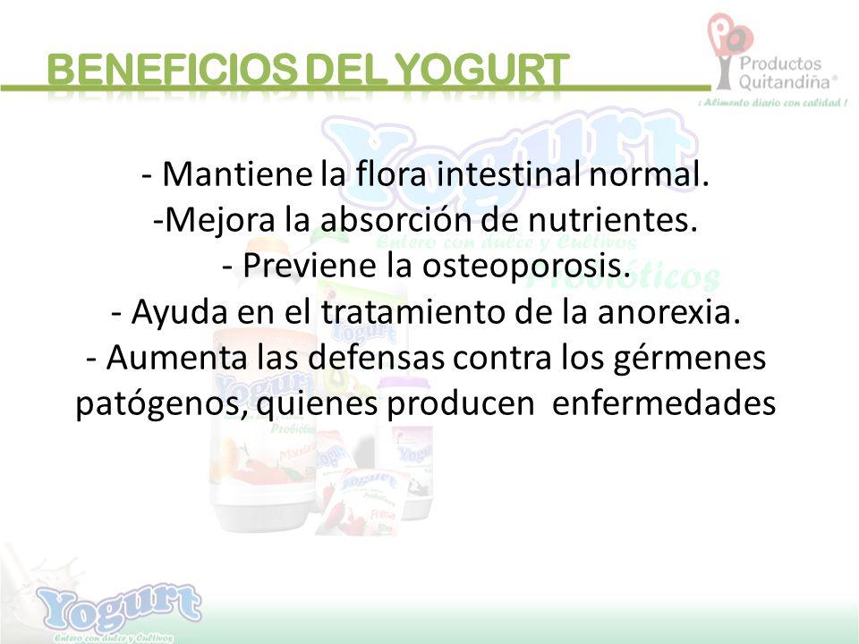-EL yogurt se convierte en una verdadera fuente natural de CALCIO para la dieta de toda la familia.