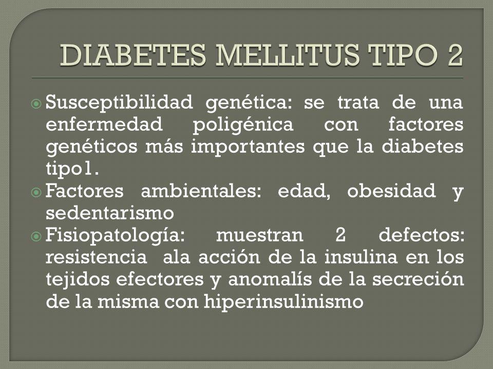 APARICIÓN GENERALMENTE EN LA PUBERTAD O A LOS 30-40 AÑOS INICIO BRUSCO CLÍNICA CARDINAL.poliuria, polidipsia, pérdida peso, polifagia Periodo de la lu