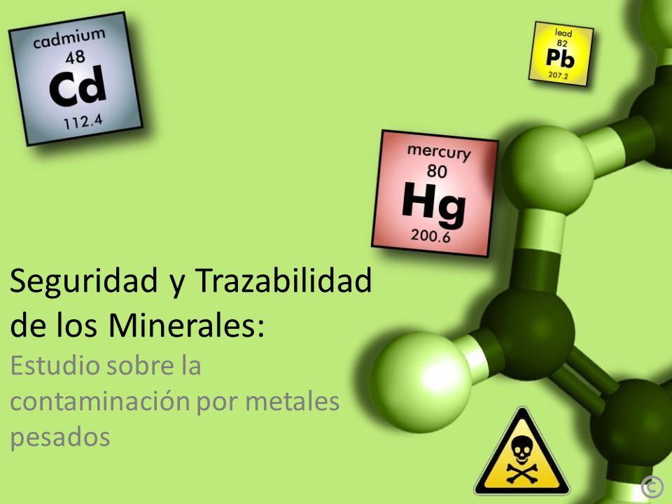 Seguridad y Trazabilidad de los Minerales: Estudio sobre la contaminación por metales pesados