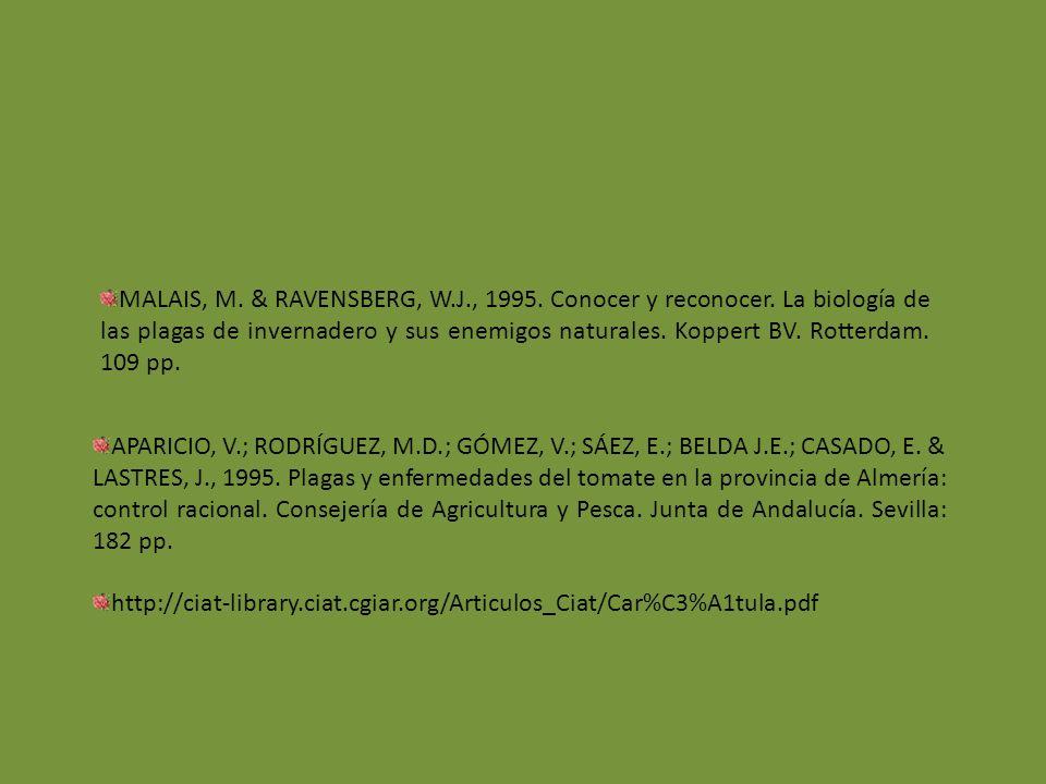 APARICIO, V.; RODRÍGUEZ, M.D.; GÓMEZ, V.; SÁEZ, E.; BELDA J.E.; CASADO, E.