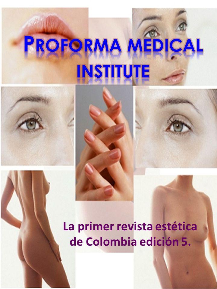La primer revista estética de Colombia edición 5.