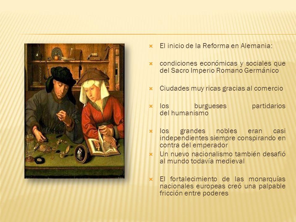 Precursores de la Reforma: John Wycliffe(1324-1384) y Juan Hus (?-1415) Wycliffe: Teólogoy predicador inglés Fundador del movimiento lolardo De los primeros opositores a la autoridad papal Traductor de la Biblia al idioma inglés
