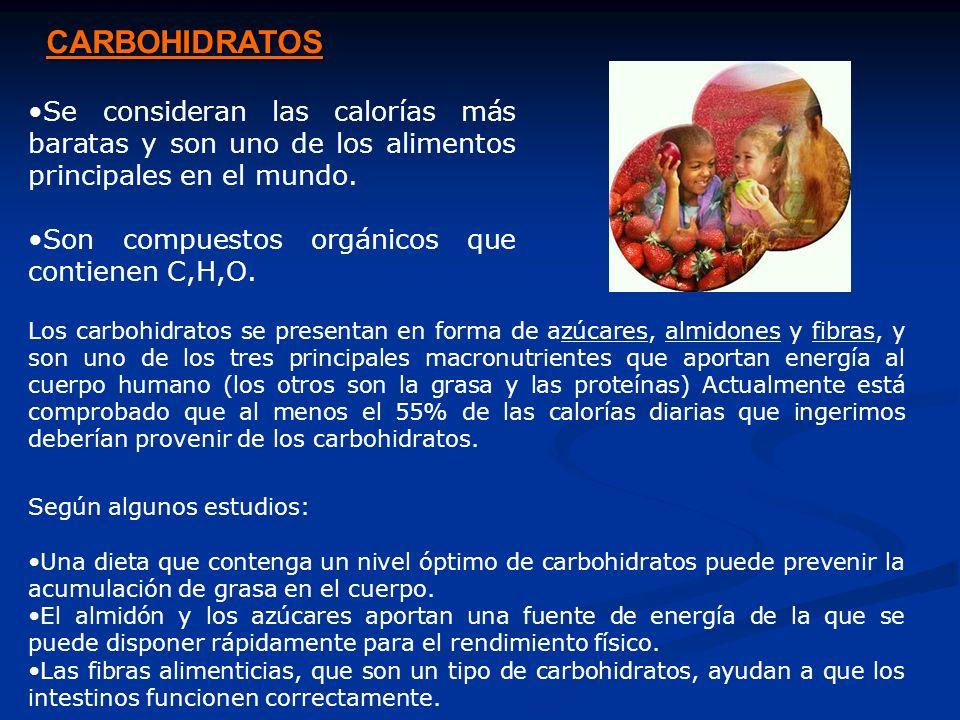 Los carbohidratos varían mucho en cuanto a dulzura, textura, intensidad de digestión y grados de absorción después de pasar a través del sistema gastrointestinal del ser humano Los carbohidratos se clasifican como Simples Monosacáridos y disacárido Complejos Polisacáridos Los carbohidratos simples tienen uno (monosacárido) o dos (disacáridos) azúcares, mientras que los carbohidratos complejos (Polisacáridos) tienen muchos.