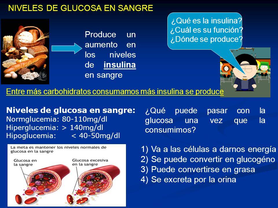 ¿Carbohidratos simples y complejos ó índice Glucémico.