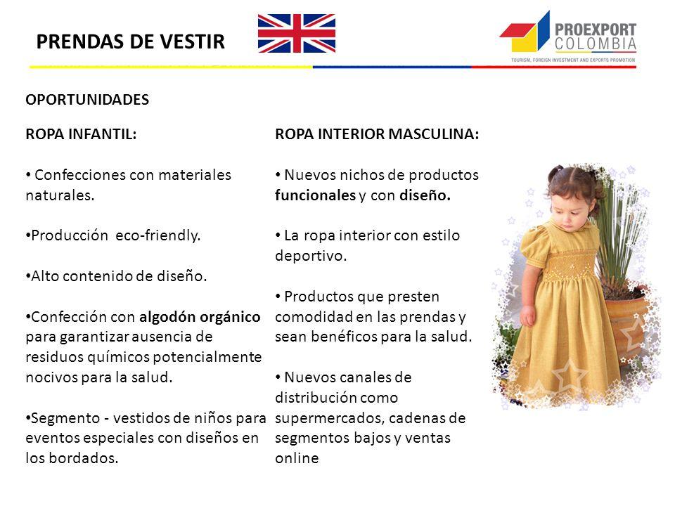 OPORTUNIDADES ROPA INFANTIL: Confecciones con materiales naturales. Producción eco-friendly. Alto contenido de diseño. Confección con algodón orgánico