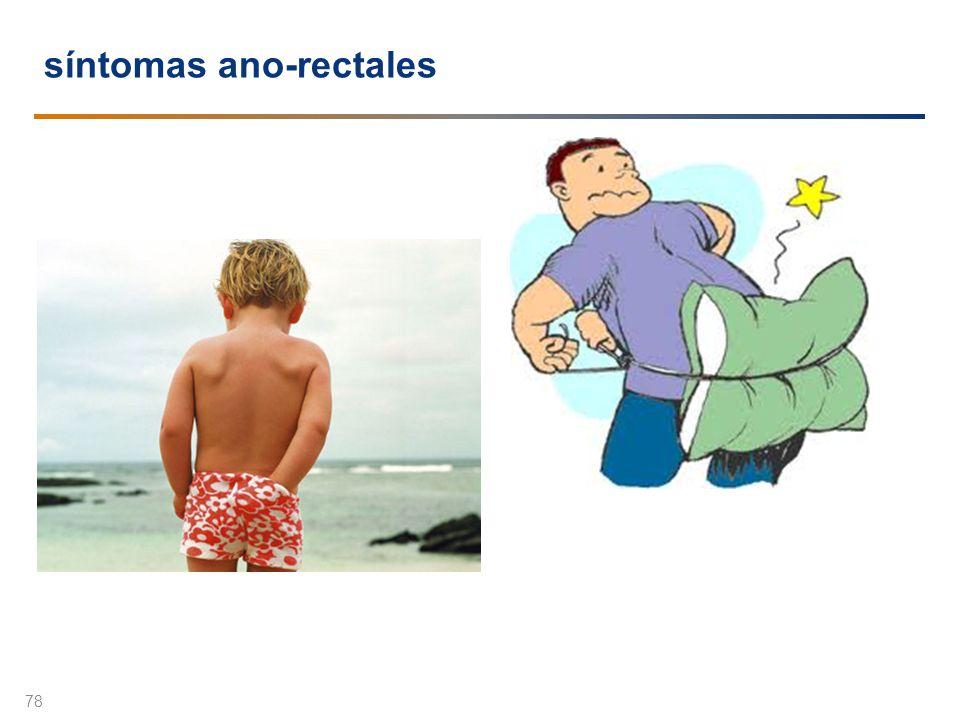 síntomas ano-rectales 78