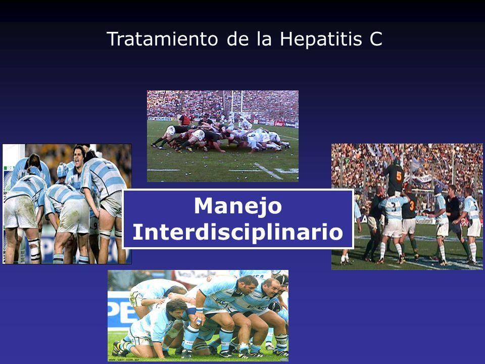 La TCP/ITP es la complicación hematológica más frecuente de las hepatopatías crónicas, La TCP en hepatópatas se asocia con un mayor número de consultas, hospitalizaciones y costos La presencia de ITP o TCP en un portador de hepatitis crónica C implica desde la contraindicación del tratamiento hasta la disminución de la dosis de PEG IFN o la suspensión, La terapéutica de la ITP (Guías ASH) primaria es parcialmente aplicable y en forma transitoria en los pacientes con hepatitis C, La erradicación del HCV se asocia con desaparición de la ITP, Plaquetopenia Manejo de los efectos adversos