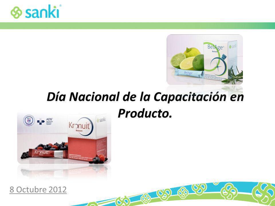 Día Nacional de la Capacitación en Producto. 8 Octubre 2012