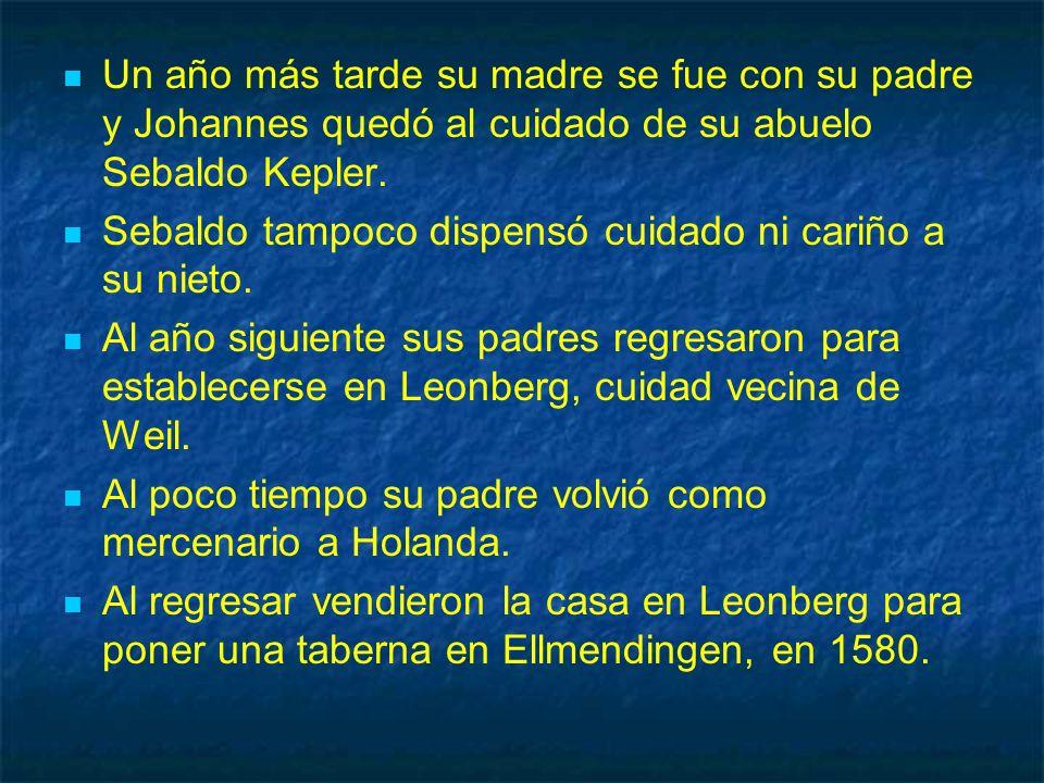 Posteriormente la familia regresó a Leonberg.