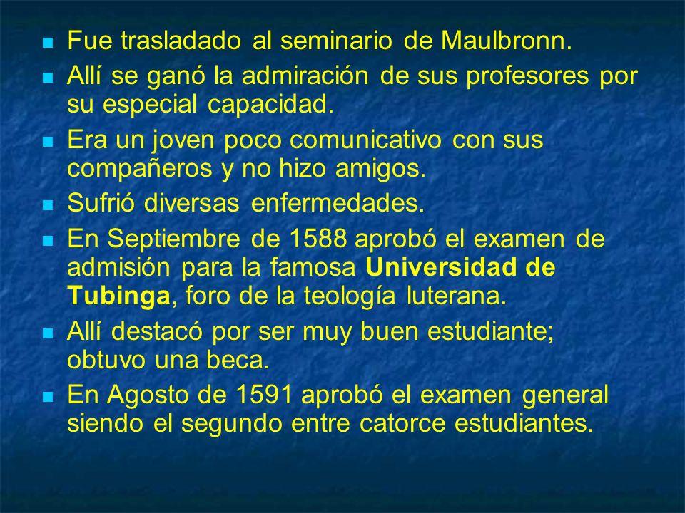 En 1627 publica las Tablas Rudolfinas.