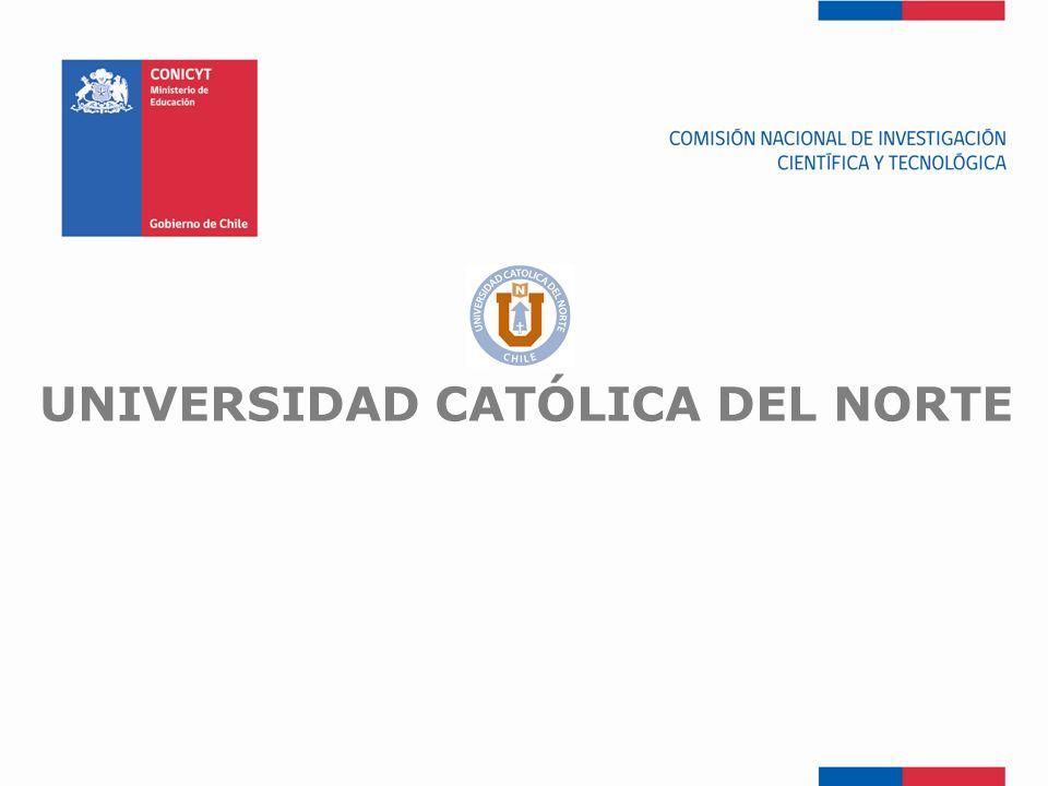 FONDEF-Fondo de Fomento UNIVERSIDAD CATÓLICA DEL NORTE