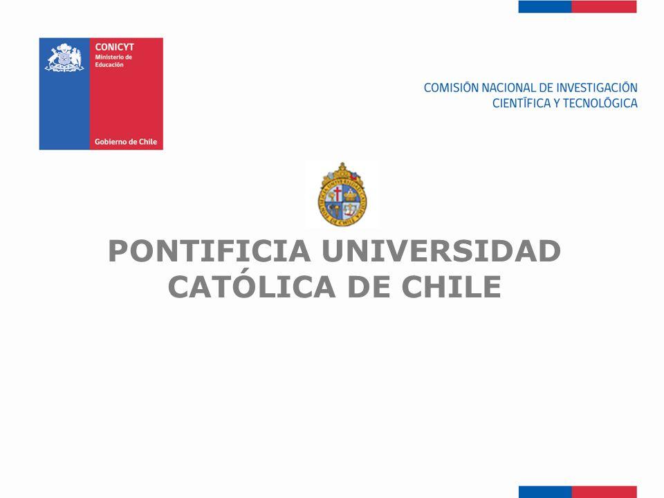 FONDEF-Fondo de Fomento PONTIFICIA UNIVERSIDAD CATÓLICA DE CHILE